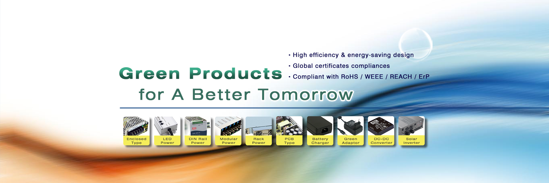 Green Products for A Better Tomorrow