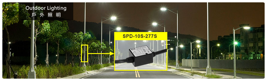 SPD-10S-277S Series 10kA Miniaturized High-Performance Surge Protection Device