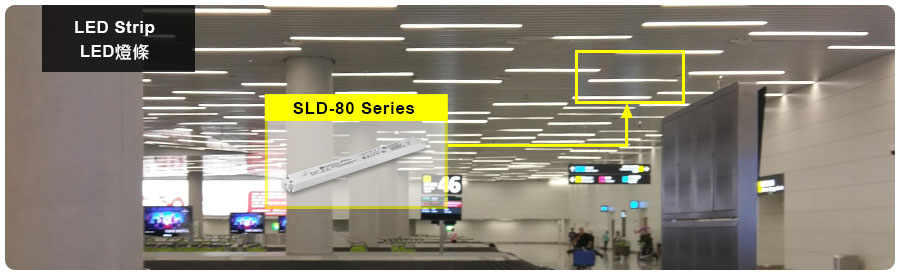 SLD-80 Series 80W Slim and Linear Type LED Driver