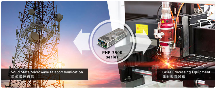 MEAN WELL PHP-3500 Series High Efficiency Water-cooled Power Supply