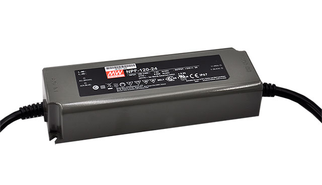 Temperature Protected Load Mean Well DRP-480S-48 Short Circuit Over Voltage