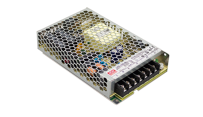 Switching Power Supply 36V 2,1A 75W with PFC installation version HRP-75-36 by Meanwell
